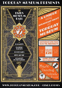 POSTPONED - A 1920's Night at the Museum Ball