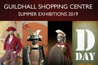 Summer Exhibitions in the Guildhall Shopping Centre Exeter