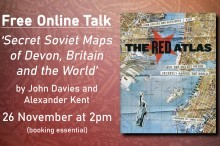 Free Online Talk 'Secret Soviet Maps of Devon, Britain and the World'
