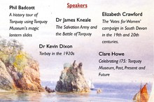 Torbay's Heritage Lecture Day