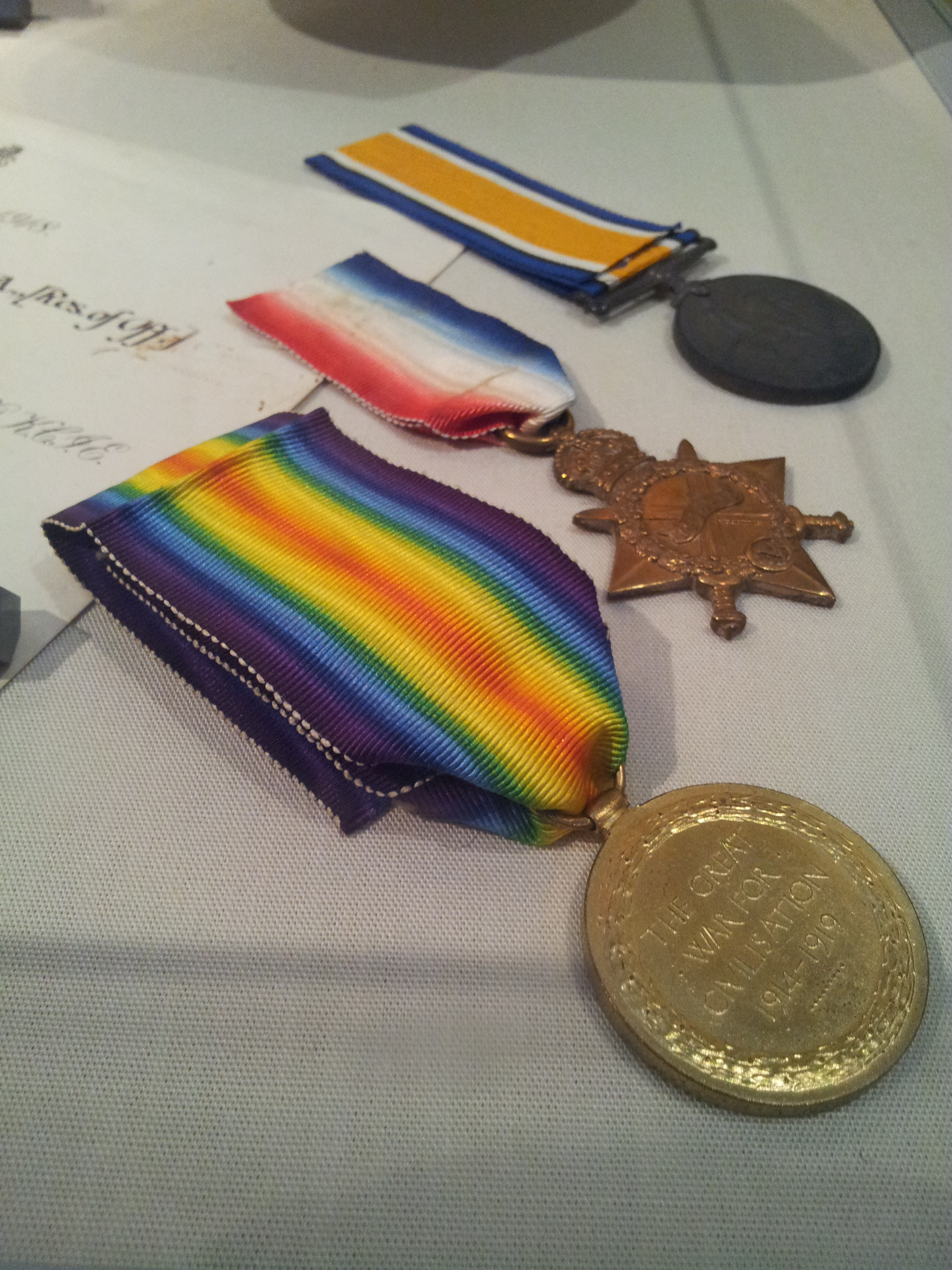 Fawcett's World War 1 Medals