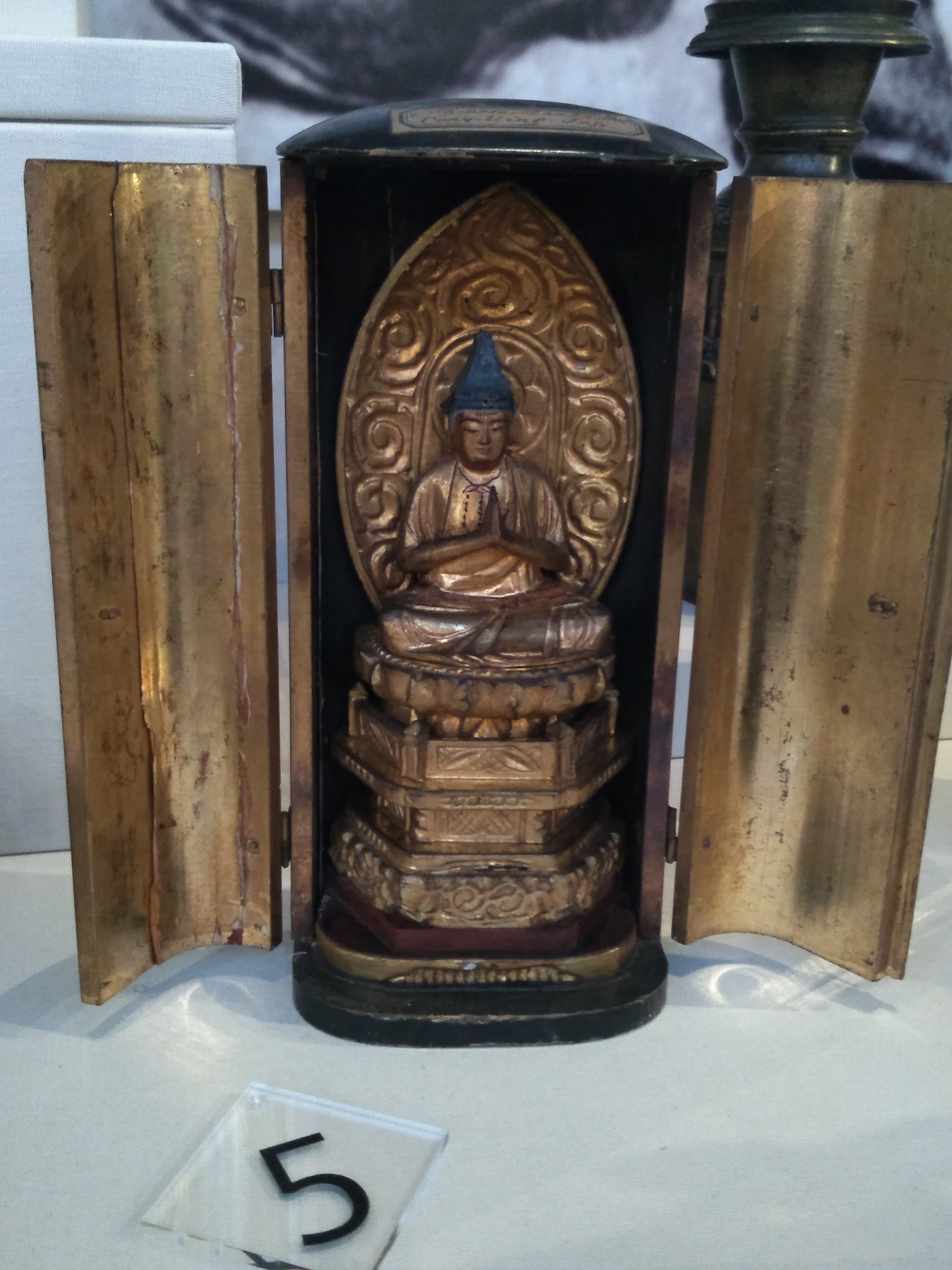 Portable Buddhist Shrine