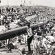 PR24538 - Crowded Paignton Sands and promenade, August 1964